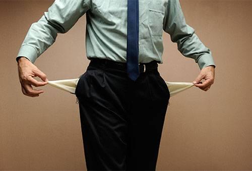 Банкротство физического лица, если нет денег и имущества